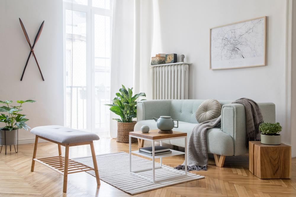 Décoration intérieure originale : le look scandinave au salon