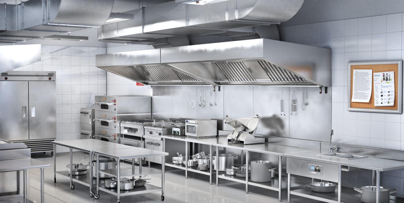La cuisine industrielle, toujours au top !