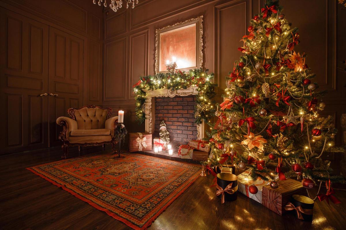 Déco maison pour Noël