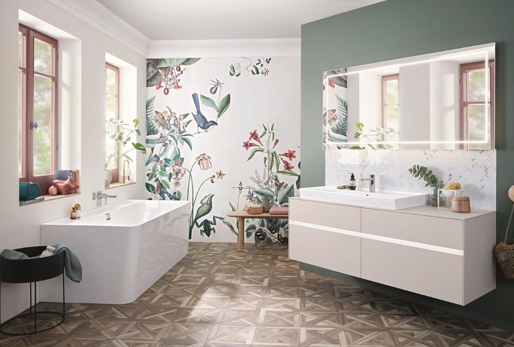 Comment bien choisir son papier peint pour salle de bain?